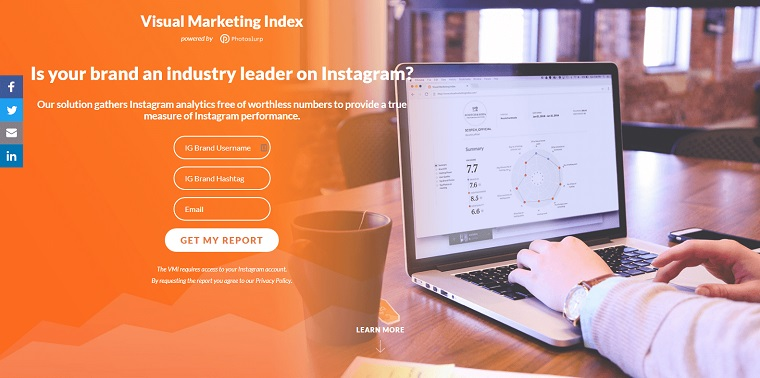Visual Marketing index